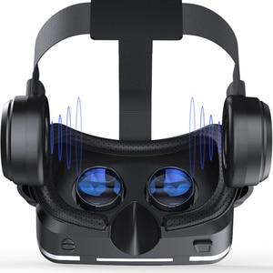 Image 5 - VR Shinecon 6.0 3D VR קסדת 360 תואר סטריאו תיבת אוזניות עבור 4.7 6.0 אינץ אנדרואיד/IOS Smartphone מציאות מדומה משקפיים