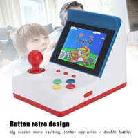 3in A6 FC Portable Retro Mini Handheld Game With 2 Handles for 360 Game Video Games 2019 New