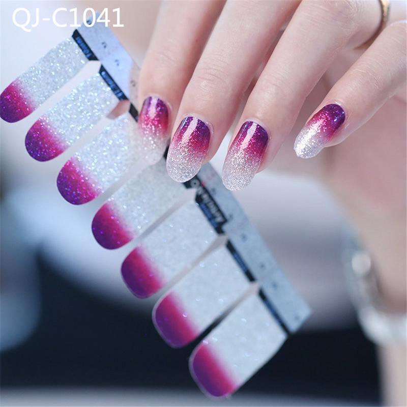 glitter nail art diy transfer decals