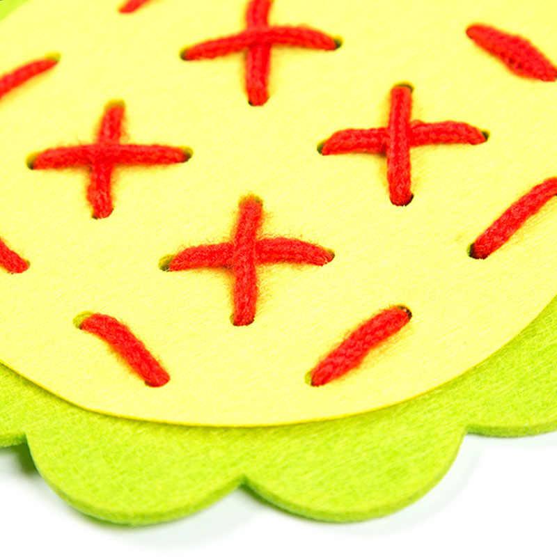 FAI DA TE Tessuto Scuola Materna Manuale Materiali di Stoffa di Insegnamento Bambino Apprendimento Precoce Giocattoli Educativi Sussidi Didattici Matematica Giocattoli Nuovo Arrivo