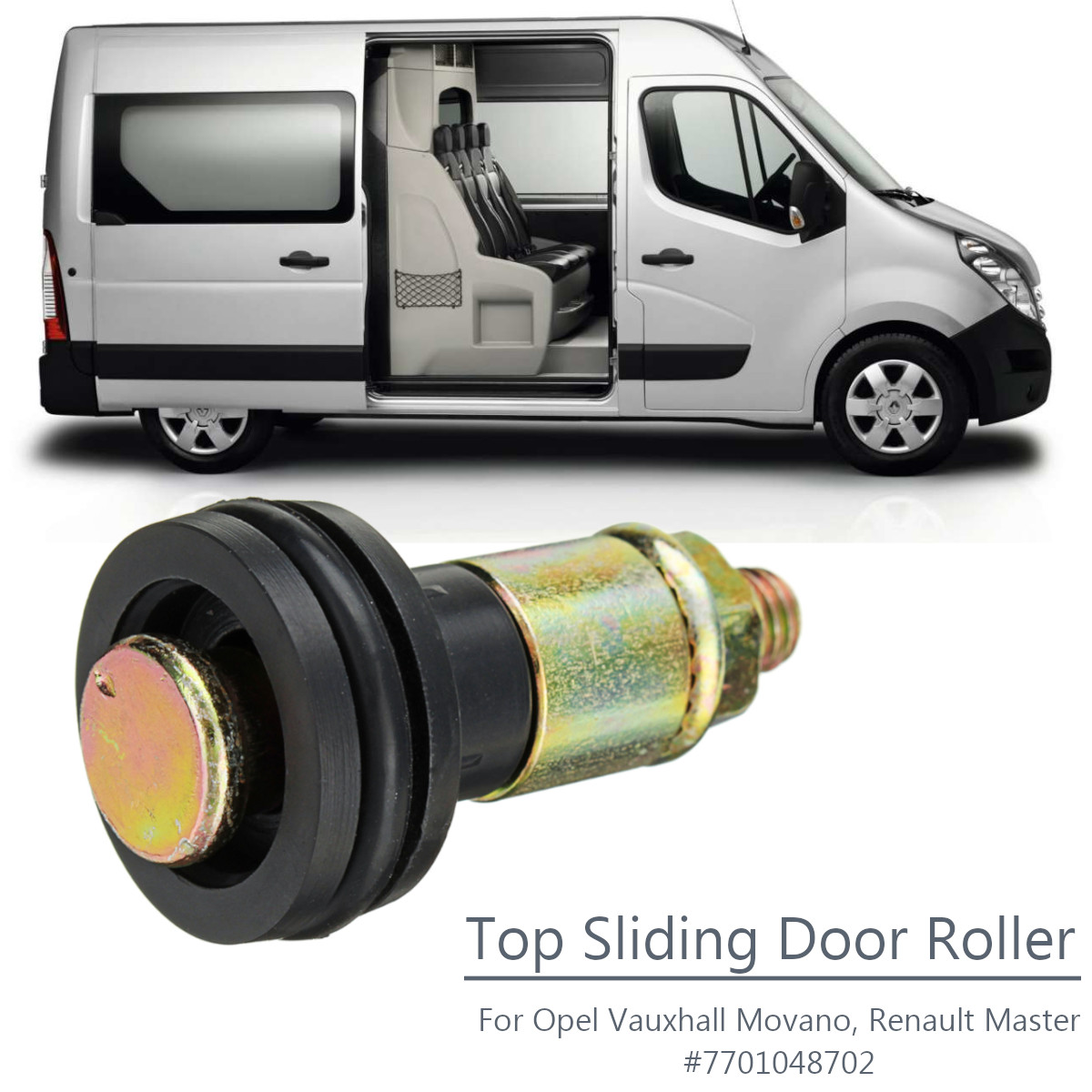 Top Guide Sliding Door Roller 7701048702 For Opel for Vauxhall Movano for Renault MasterTop Guide Sliding Door Roller 7701048702 For Opel for Vauxhall Movano for Renault Master