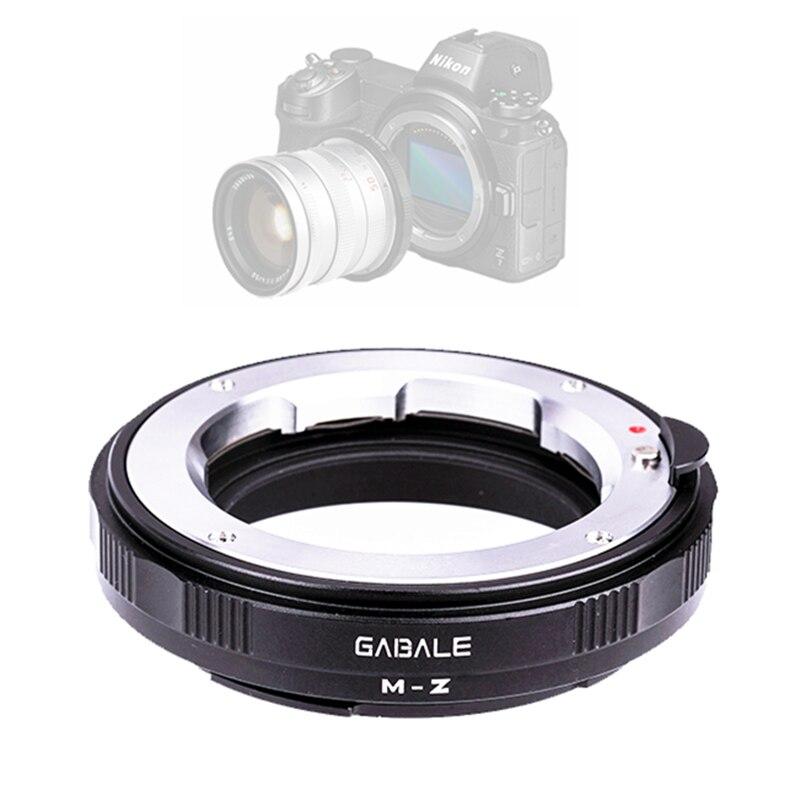 Adaptateur de monture d'objectif manuel pour Leica LM LR Canon EOS EF Nikon F AI Contax YASHICA Minolta MD M42 à Z7 Z6 remplacer FTZ