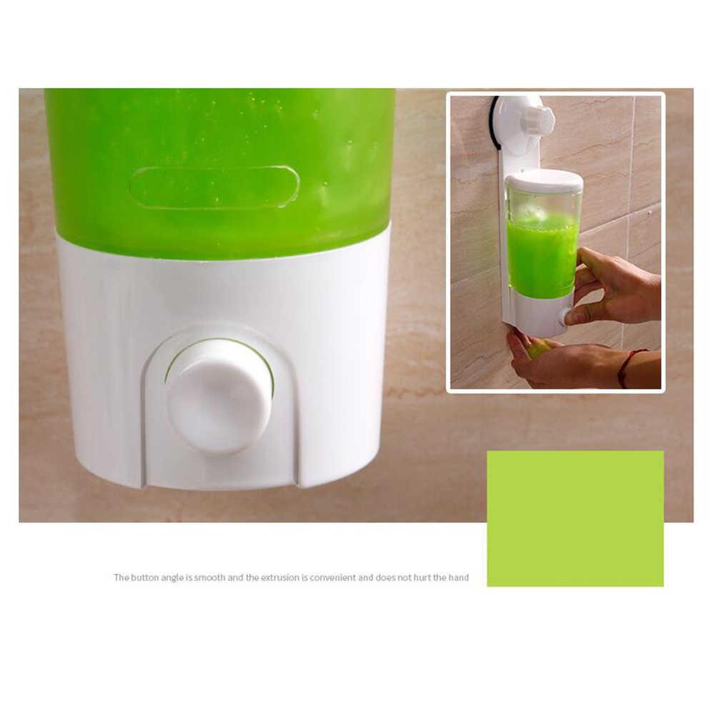 Dispensador de jabón líquido de gran calidad, gran capacidad, fácil de instalar, dispensador de jabón de pared para uso doméstico, dispensador de jabón líquido para Baño de Hotel