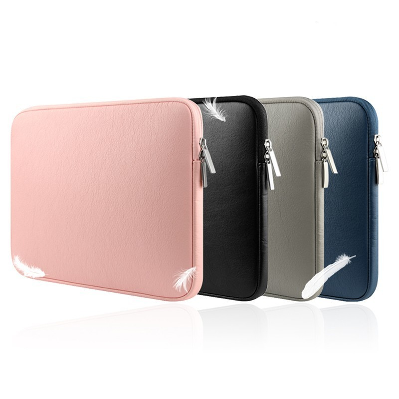 Waterproof PU Leather Laptop Sleeve Bag For Macbook Pro Air Retina 11 12 13 15 Inch Notebook Prodector Case Free Shipping