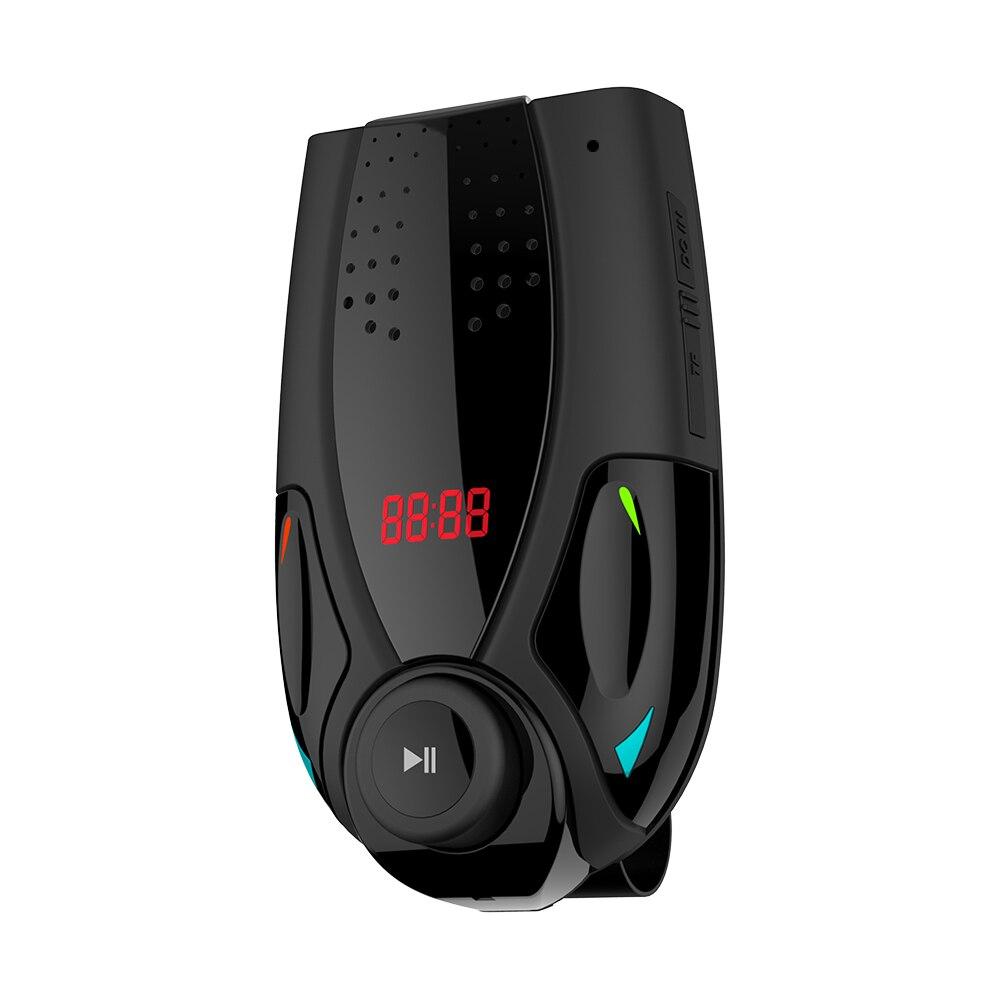 Mp3-player Auto Mp3 Player Auto Sonnenblende Lautsprecher Fm Transmitter Hands-free Bluetooth Stereo Audio Receiver Adapter Usb Freigabepreis