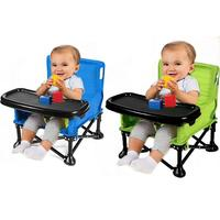 Children Portable Multifunctional Dining Table Child Seat Eating Learning Chair Children Dining Chair Folding Can Sit Reclining
