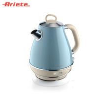Чайник Ariete Vintage 2869/05 голубой, стильный ретродизайн, объем 1,7 литра, поворот на 360 градусов, фильтр против накипи, индикатор уровня воды