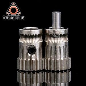 Image 2 - Trianglelab Drivegear عدة محرك مزدوج والعتاد الطارد عدة صغيرة بودن الطارد مستنسخ Btech ترقية ل Prusa i3 طابعة ثلاثية الأبعاد والعتاد