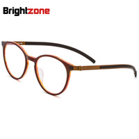 Tortoise Mania High Character Acetate Pure Titanium Myopic Eye Frame Man Round Glass Super Light Spectacle Glasses Eyeglasses
