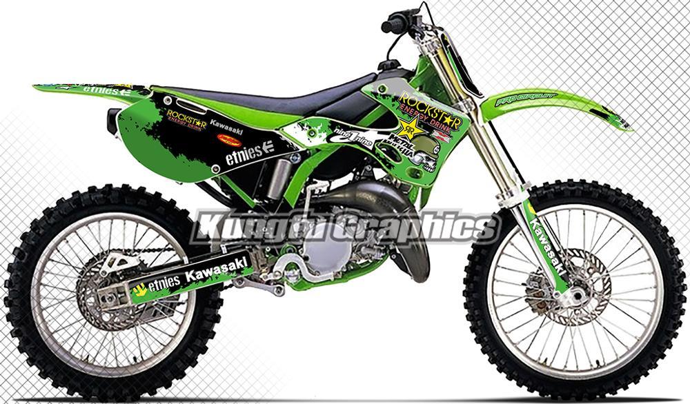 KAWASAKI Kx65 Kx 65 Silicone Radiator Hose Kit 2000-2013 Green