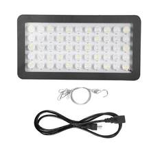 Dimmable LED Aquarium Grow Light Full Spectrum Lamp Water Plants Lamp US Plug 85-265V 165W(China)