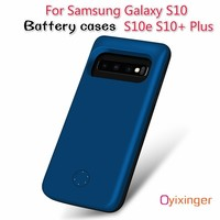 New Power Case For Samsung Galaxy S10 Plus S10e S10+ External Battery Case Charger Cases Smart 6000 MAh Backup Power Bank Cases