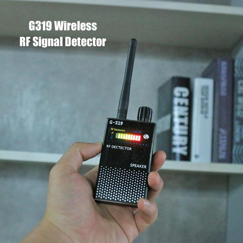 G319 US Plug Wireless RF Signal Detector Anti-GPS Locator Cell Phone Detector Full Range Bug Detector Finder Security DropshipG319 US Plug Wireless RF Signal Detector Anti-GPS Locator Cell Phone Detector Full Range Bug Detector Finder Security Dropship