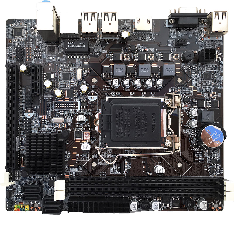 Computerkomponenten Motherboards Jia Huayu Professionelle H61 Desktop Computer Mainboard Motherboard Lga 1155 Pin Cpu Interface Upgrade Usb2.0 Ddr3 1600/1333/ 106