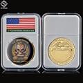 Армия США, Снайпер Veni Vidi Vici One Shot-One Kill Gold Challenge, монеты, коллекционные предметы, национальная пошлина, Honor