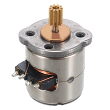1pc New Mini Micro Stepper Motor Small 8x9.2mm 2-phase 4-wire Stepper Motor With Copper Gear hot ye2 80m2 4 0 75kw three phase asynchronous motor full copper high quality motor