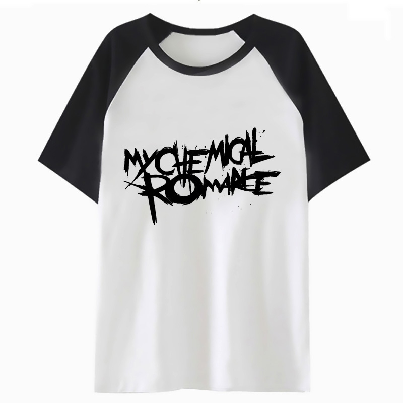 mcr My Chemical Romance   t     shirt   harajuku for hop funny streetwear top tee hip clothing male tshirt   t  -  shirt   men I3740
