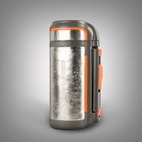 Натуральный чистый титановый вакуумный чайник термос фляга бутылка для воды чашка для кемпинга путешествия большой емкости 1.5L ультра легк