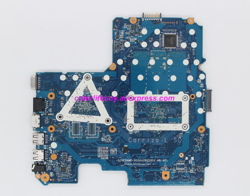 Image 2 - Genuine 858047 601 858047 001 6050A2822801 MB A01 UMA E2 7110 Laptop Motherboard Mainboard for HP 14 14 AN Series NoteBook PC-in Laptop Motherboard from Computer & Office