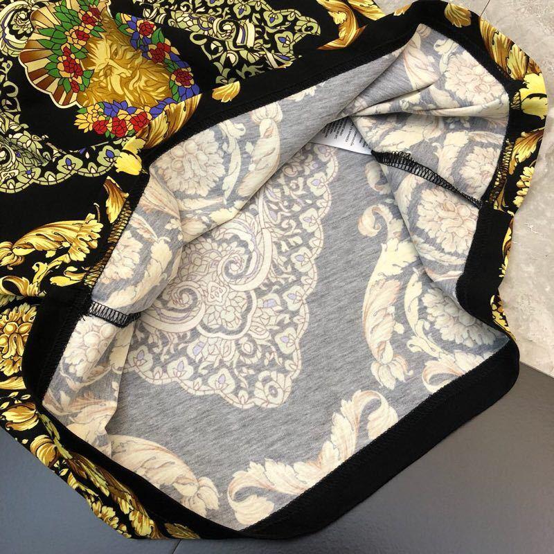 2019 printemps 19ss nouvelle arrivée de mode Designer t shirts Royal Floral imprimé t shirt pour hommes de luxe coton marque vêtements Top célèbre - 6