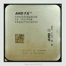 AMD FX سلسلة FX 8350 FX 8350 4.0G ثماني النواة معالج وحدة المعالجة المركزية 125 واط FD8350FRW8KHK المقبس AM3 +