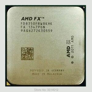 Image 1 - AMD fx series FX 8350 FX 8350 4.0G ośmiordzeniowy procesor cpu 125W FD8350FRW8KHK gniazdo AM3 +