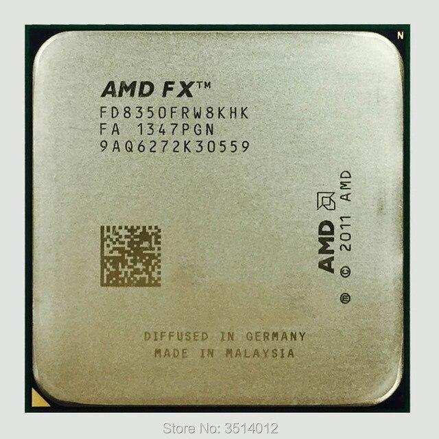AMD fx series FX 8350 FX 8350 4.0G ośmiordzeniowy procesor cpu 125W FD8350FRW8KHK gniazdo AM3 +