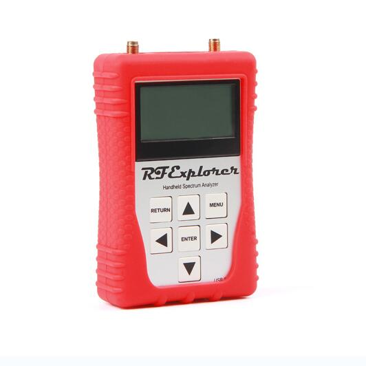 US $252 68 5% OFF|New Handled RF Explorer Signal Generator (RFE6GEN) for  Spectrum Analyzer RF Explorer Product Line with Red Rubber Case -in Signal