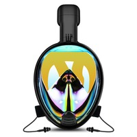 YaHey Diving Mask New Underwater Swimming Snorkel Mask Full Face Anti Fog Scuba Set for Gopro Camera with Sport Cooling Towel