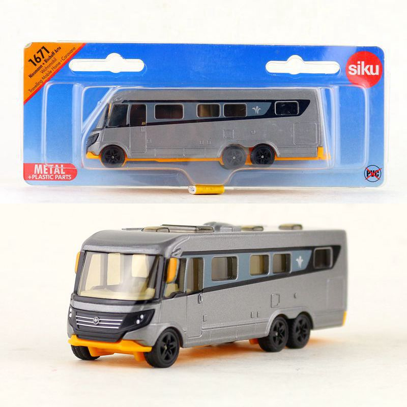 Diecasts & Toy Vehicles Siku 1671/diecast Metal Model/bischoff Arto Travel Trailer Van Car/toy For Childrens Gift/educational Collection Let Our Commodities Go To The World