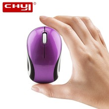 CHUYI Wireless Mouse Mini Optical Computer Cute 3D Mause For Kids 1600 DPI 2.4G USB Portable Small Mice PC Laptop Desktop