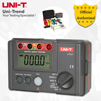 UNI-T UT521 Earth Resistance Tester; Simple 2-Wire Testing/Precision 3-Wire Testing  Data Logging  Low Battery Indication
