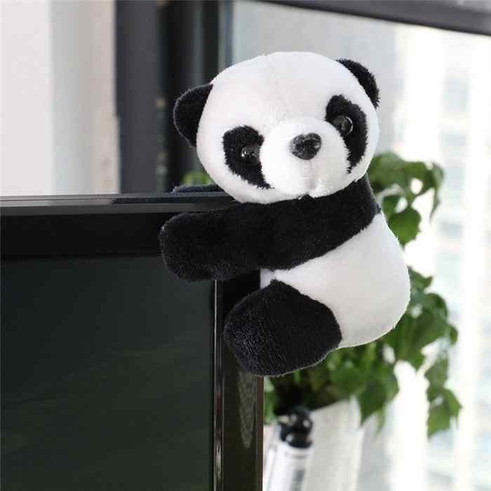 パンダ注クリップかわいいメモぬいぐるみブックマーククリップブックマークレター紙クリップ