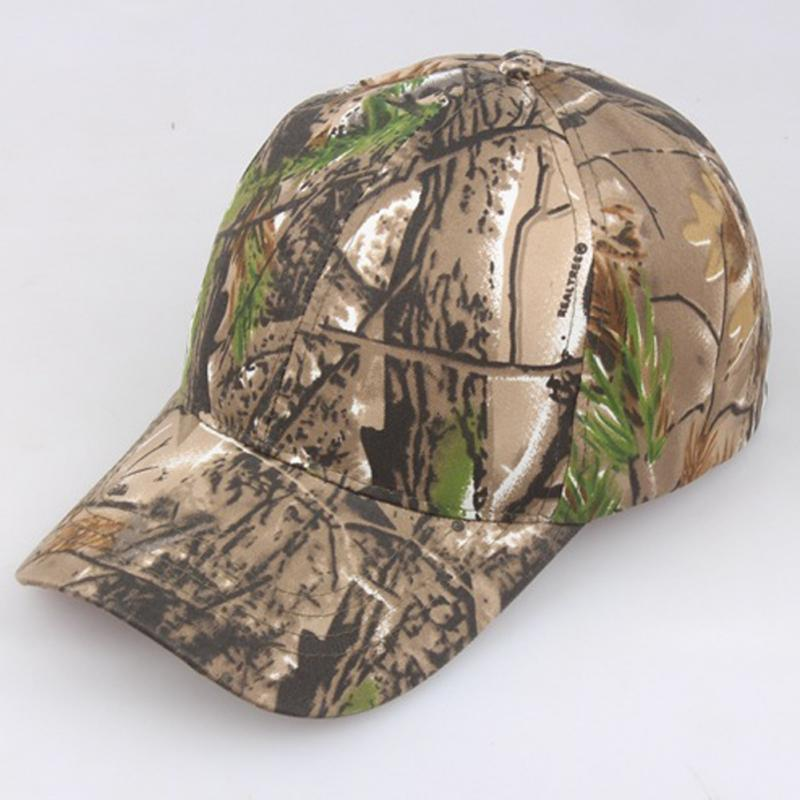 Hats Baseball-Cap Hunting Camouflage Summer Jungle Women Unisex -5 Sun-Block Adjustable
