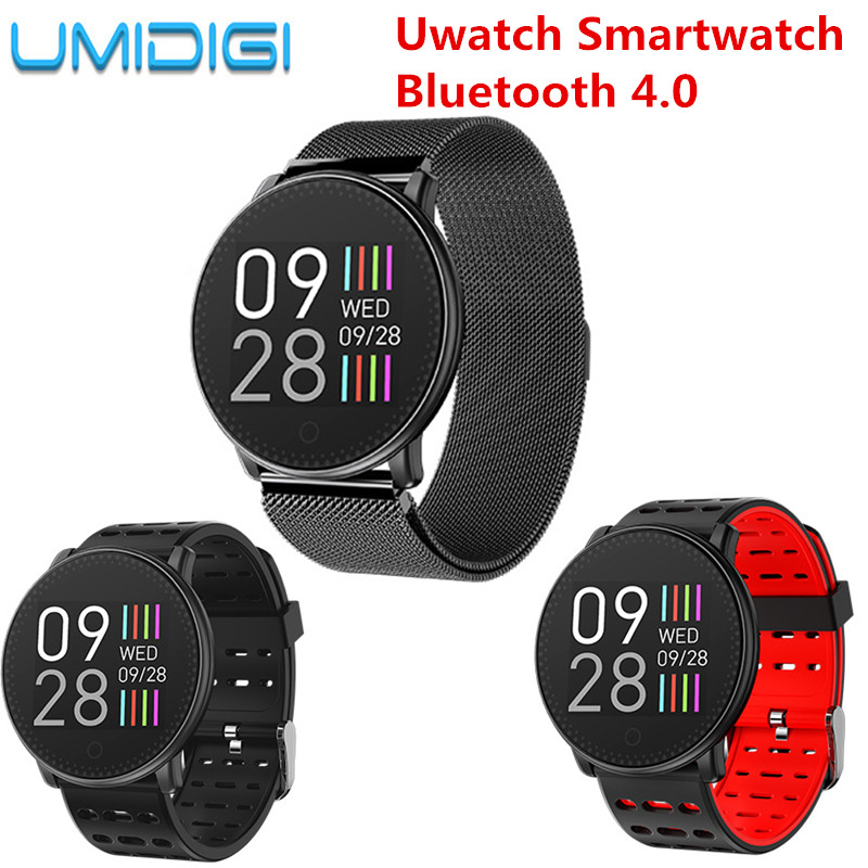 UMIDIGI Uwatch Smart Watch Bluetooth 4.0 Waterproof Sport Bracelet Watch Heart Rate Sleep Monitor Smartwatch for Android iOS