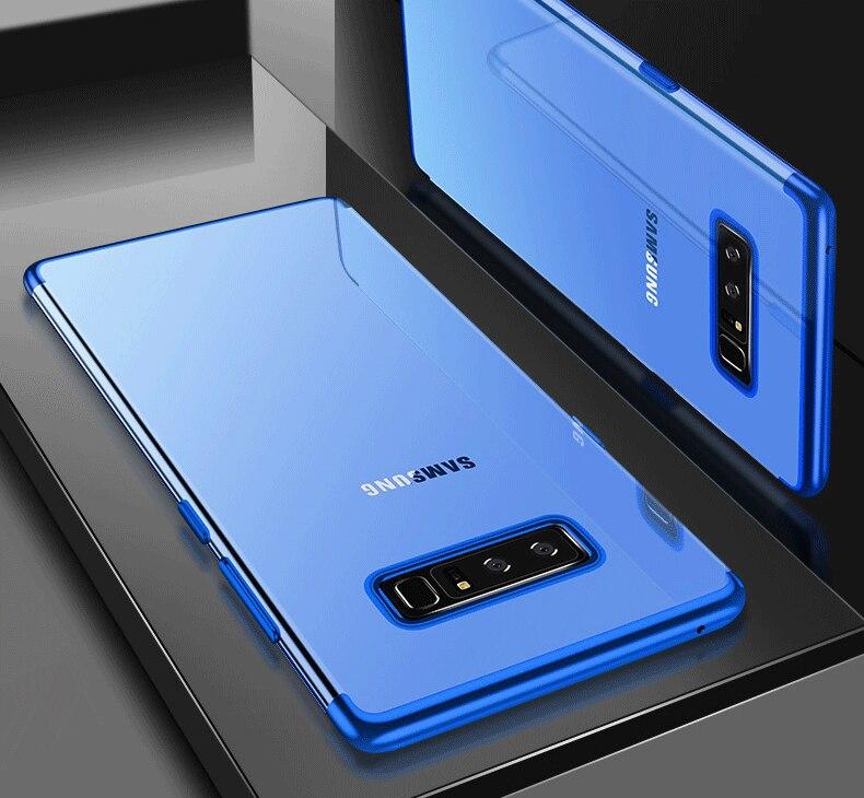 Clear Soft Case For Samsung Galaxy S10 E Plus M20 M10 Note 9 8 S9 S8 Plus S7 S6 Edge A9S A8S A6S A9 2018 A750 2018 A710 Case