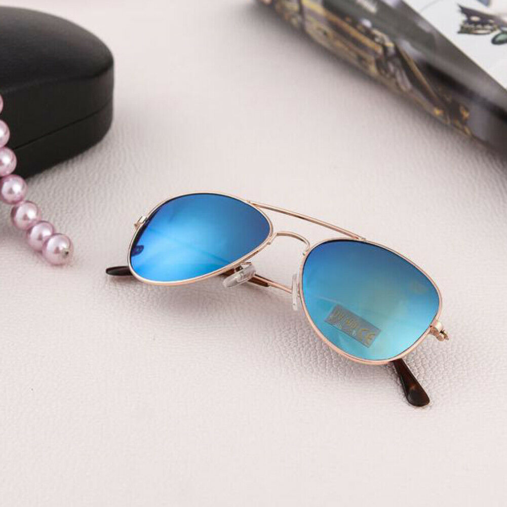2019 Kid Sunglasses Children Reflective Popular Children Frog Mirror Boy Girl Color Sunglasses Sunglasses Glasses