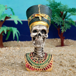 Head Figurines Statue Resin Ancient Pharaoh Queen King Mummy Home Decoration