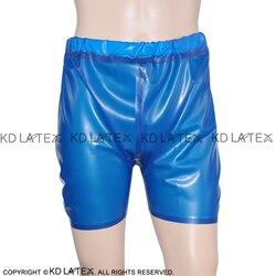 مثير اللاتكس سراويل بوكسر مع شريط مرن ثقب مفتوحة المطاط الصبي السراويل قيعان الملابس الداخلية DK-0023