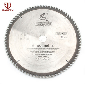 "Image 1 - 12"" 305mm Circular Saw Blade Wood Aluminum Cutting Tools Cemented Carbide 40 60 80 100 Teeth"