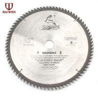 12 305mm Circular Saw Blade Wood/Aluminum Cutting Tool Cemented Carbide 40 60 80 100 Teeth