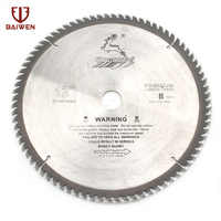 """12 """"305mm hoja de sierra Circular madera/herramienta de corte de aluminio carburo cementado 40 60 80 100 dientes"""