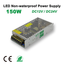 150W LED Power Supply,LED Strips Drive,DC12V/24V,Non-Waterproof,Adapter transformer,IP20,Indoor Use,for LED Linear light,panel 24v dc linear actuators set with power supply control box and handset for bed sofa chair use 1set