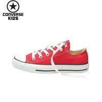 CONVERSE детская обувь Классическая Changqing Фонд низкая помощь родителей парусиновая обувь для мужчин Дети #101007