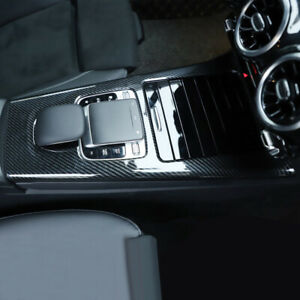 2 Pcs Car Gearbox Panel Decorative Cover Trim ABS For <font><b>Mercedes</b></font>-Benz A-class <font><b>W177</b></font> 2019 image