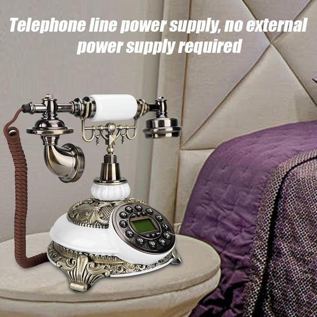 IDS-8646C アップグレード版古典的な木製ヨーロッパのビンテージアンティーク電話ホット販売