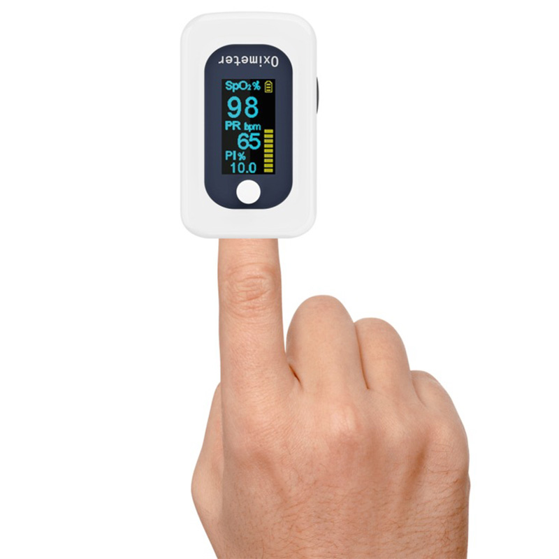 Medical Finger Pulse Oximeter Accurate Measurement PI Blood Oxygen Detector FDA Certificate Household Health Equipment Fingertip in Blood Pressure from Beauty Health