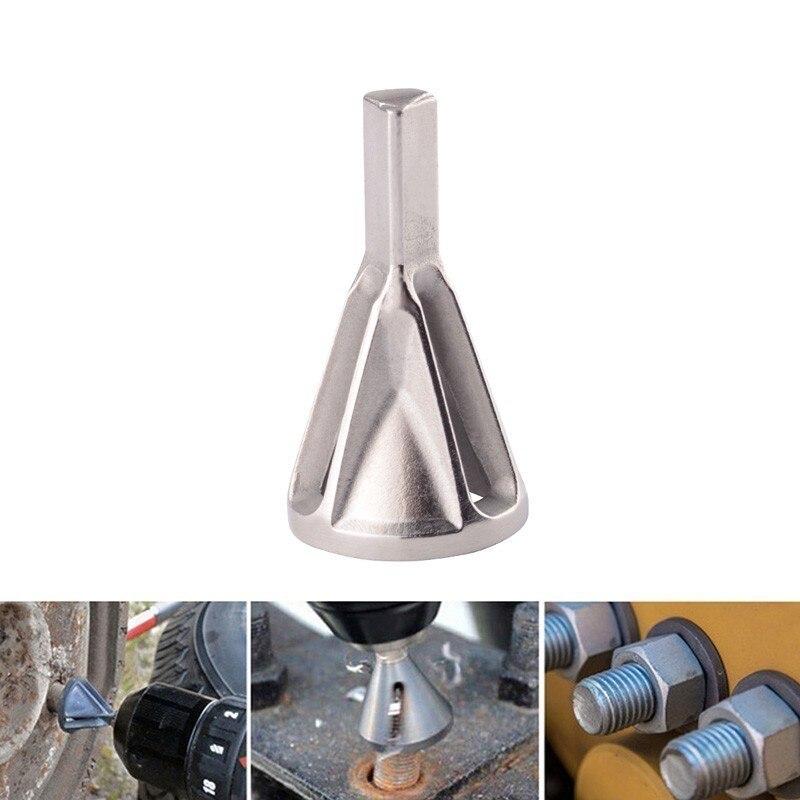 outil d/ébavurage pour taille 8-32 boulons en acier inoxydable Lot de 2 outils de chanfreinage externes forets /à /ébavurer Noir