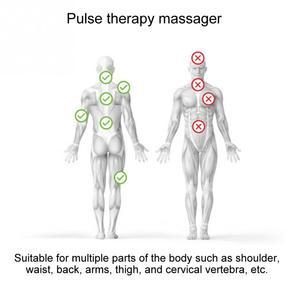 Image 5 - Mini USB ต่ำความถี่ Current Pulse Massager สำหรับไหล่คอเอวแขนขานวดผ่อนคลาย