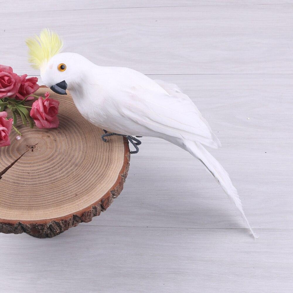 Käsitsi valmistatud dekoratiivne papagoi 25 sm 2